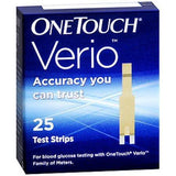 One Touch Verio Flex Strips 25