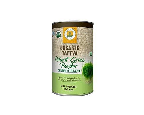 Organic Tattva Wheat Grass Powder 100 Gm