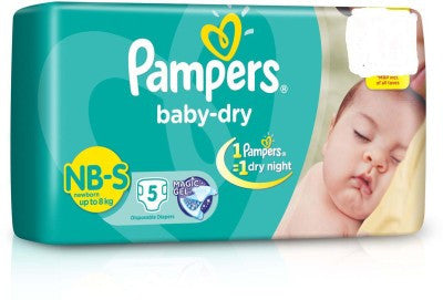 Pampers Baby Small Diaper