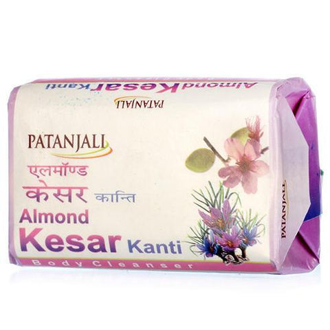 Patanjali Almond Kesar Kanti Body Cleanser Soap 75 GM