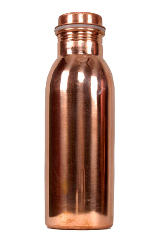 ASK Plain Copper Water Bottle 750 Ml