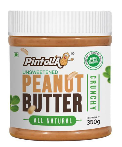 Pintola All Natural Peanut Butter Crunchy 350 Gm