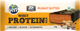 HYP Whey Protein Bar Box Of 6 Bars Peanut Butter