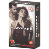 Playgard More Time Super Dotted Strawberry 10's condom (Pack Of 3)