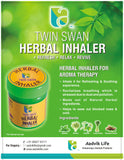 Aadvik Twin Swan Herbal Inhaler 10 GM