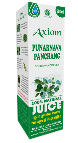 Axiom Punernava Juice 500 ML For Stones, Kidney, Liver, Spleen Problems, Weight Loss