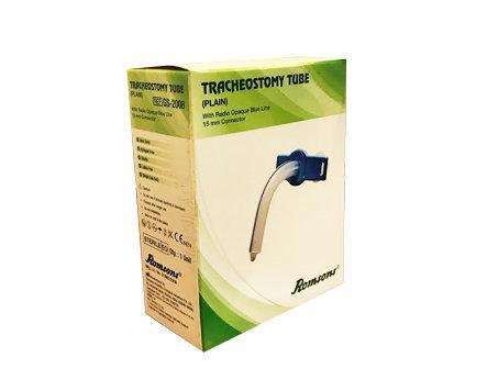 Romsons Tracheostomy Tube Plain Size 7.0