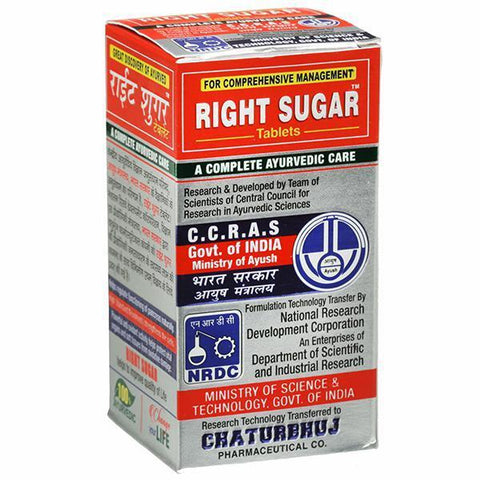 Chaturbhuj Pharmaceutical Right Sugar 120 Tablets