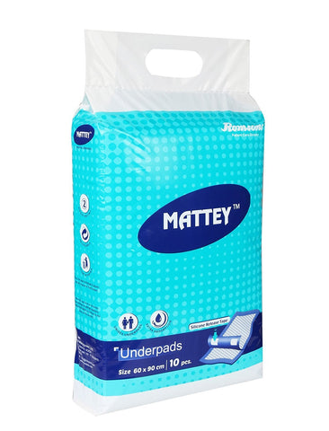 Romsons Mattey Underpads Diapers (10 Count)