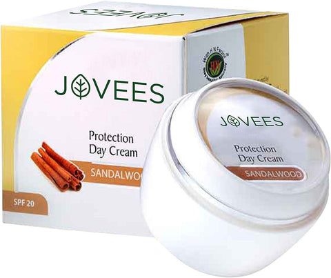 Jovees Sandalwood Day Protection SPF 20 Cream 50Gm