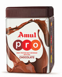 Amul Pro Whey Protein - Malt Beverage With Dha Chocolate, 500 Gm (Jar)