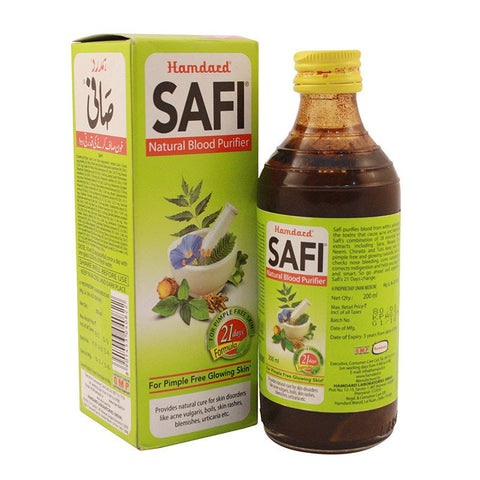 Hamdard Safi Natural Blood Purifier - 500ML