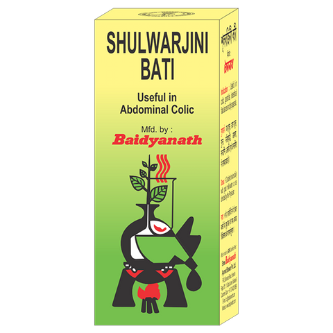 Baidyanath Shulwarjini Bati For Stomach Problems