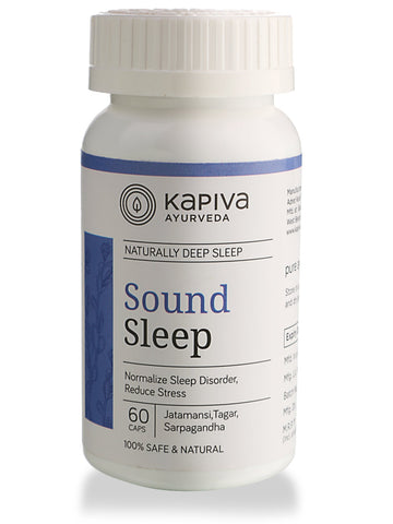 Kapiva Ayurveda Sound Sleep 60's Capsule For Sleep Disorders & Stress