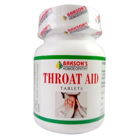 Bakson's Throat AID 75 Tablets - Relieves Sore Throat