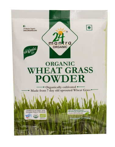 24 Mantra Wheat Grass Powder 100Gm