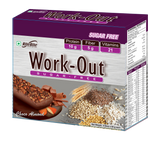 Ritebite Work Out Chocolate Almond Bar 300 GM (50GM X 6)