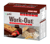 Ritebite Work Out Chocolate Berry Bar 1200 GM (50GM X 24)