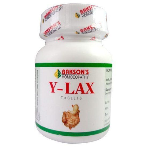 Bakson's Y - LAX 350 Tablets For Constipation