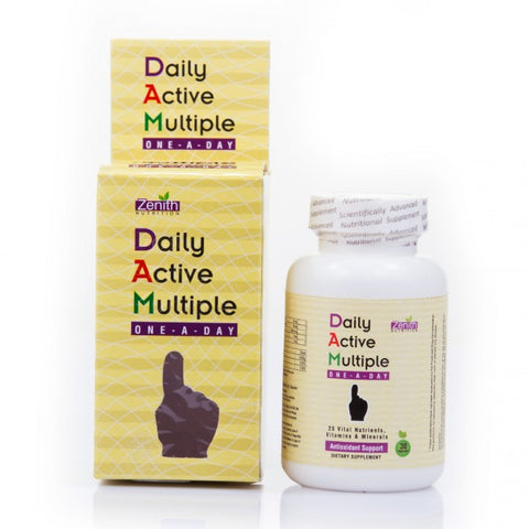 Zenith Nutrition Daily Active Multiple One A Day Veg Capsule 30