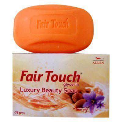 Allens Fair Touch Soap For Acne, Pimples, Blackheads, Dark Spots, Scars & Dark Circles