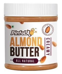 Pintola All Natural Almond Butter Creamy 350 Gm