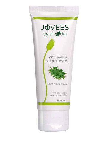 Jovees Ayurveda Neem & Long Pepper Anti Acne And Pimple Cream 60Gm