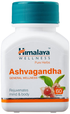 Himalaya Wellness Pure Herbs Ashvagandha (60 tabs) - General Wellness