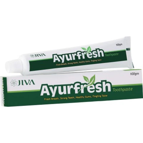Jiva Ayurfresh Toothpaste 100 GM - Pack Of 2