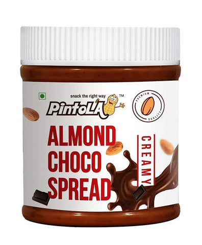 Pintola Almond  Creamy Choco Spread Butter 350 Gm