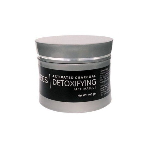 Jovees Detoxifying Charcoal Face Masque 100Gm - helps to remove black heads, dead cells, & brings glow to the skin