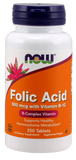 Now Foods Folic Acid 800 Mg 250's Tablet