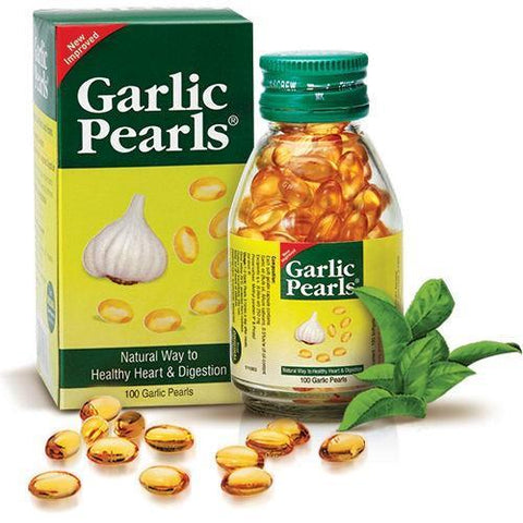 Sun Pharma Garlic Pearls 100's Capsule - Improves Digestion, Boost Immunity & maintain Cholesterol