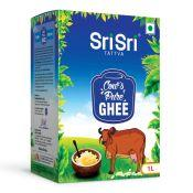 Sri Sri Tattva Cow's Pure Ghee 1Litre