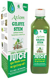 Axiom Giloye Stem Juice 500 ML For Rheumatide Arthritis, Flue, Fever Infection, Acidity & Indigestion