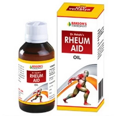 Bakson's Rheum AID Oil 115 Ml For Joint Pain, Muscles & Sprains