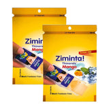 Ziminta Sugar Free Mint Mouth Freshener Mango (Pack Of 2*30 Strips)