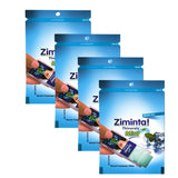 Ziminta Sugar Free Mint Mouth Freshener Blue (Pack Of 4*30 Strips)