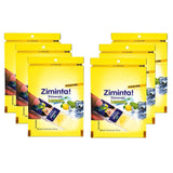 Ziminta Sugar Free Mint Mouth Freshener Lemon (Pack Of 6*30 Strips)
