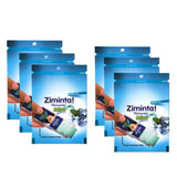 Ziminta Sugar Free Mint Mouth Freshener Blue (Pack Of 6*30 Strips)