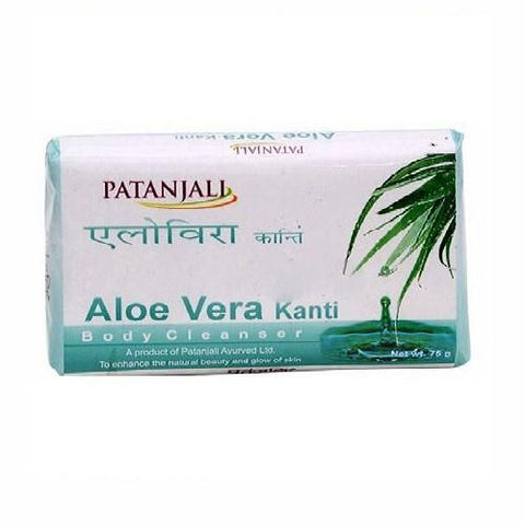 Other Bath & Body Supplies 4 Patanjali Kanti Aloe Vera 75 Gm Bath And Body Cleanser Soap Bath & Body