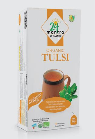 24 Mantra Tulsi Bags (25 Bags)