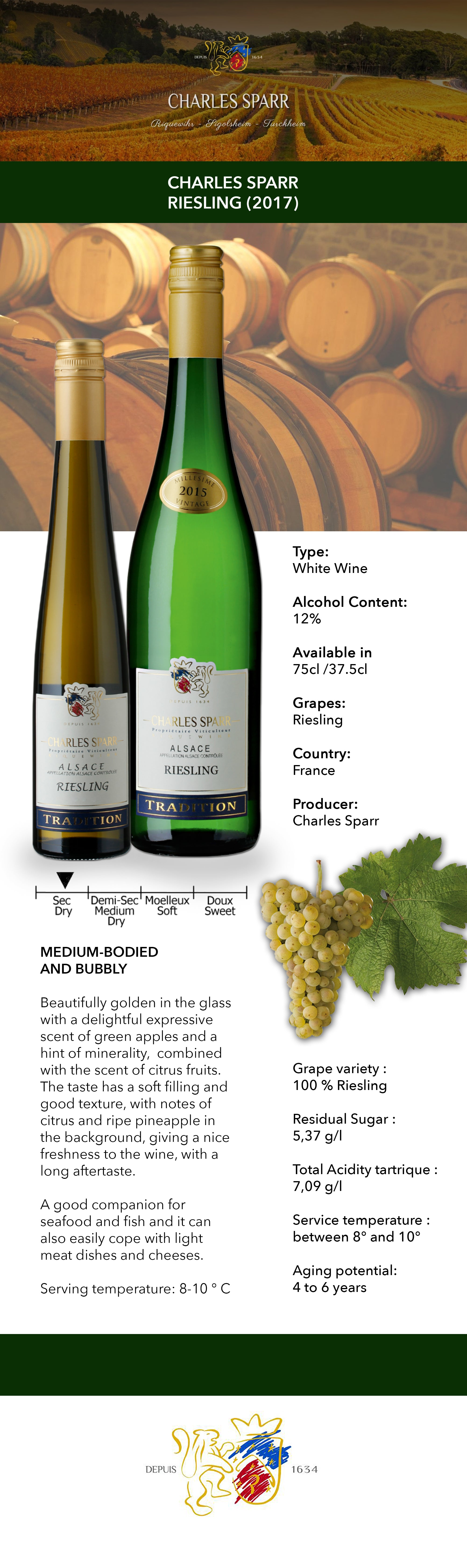 Charles Sparr Alsace Riesling