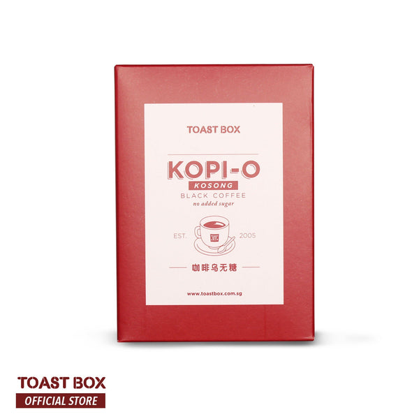 [Toast Box] Kopi O Kosong Black Coffee without Sugar 14gm x 6 sachets - by Bloom Concept