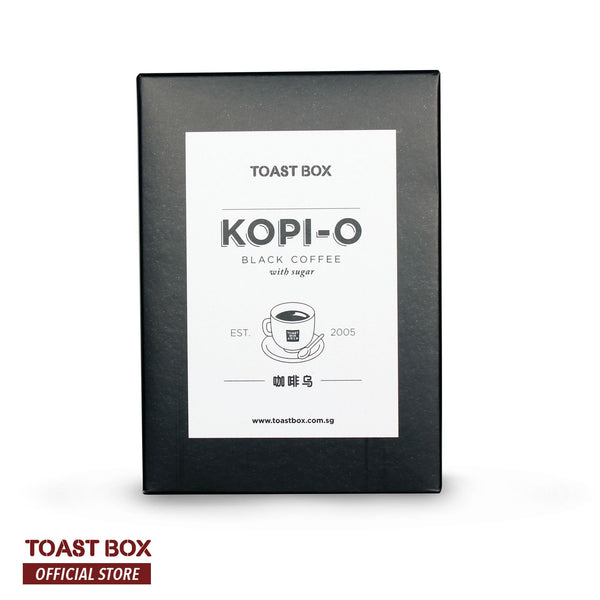 [Toast Box] Kopi O Black Coffee with Sugar 22gm x 6 sachets - by Bloom Concept