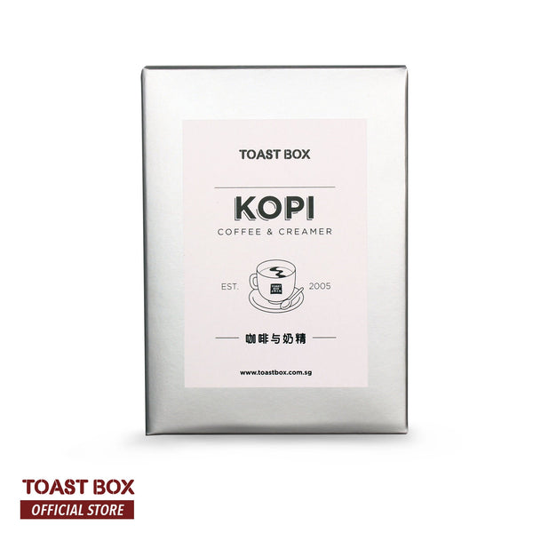 [Toast Box] Kopi with Creamer Coffee with Creamer Unsweetened 32gm x 6 sachets - by Bloom Concept
