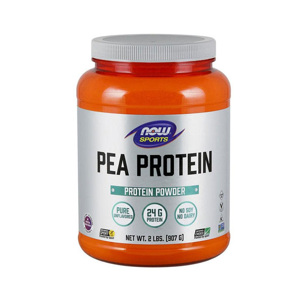 Now Foods, Sports, Pea Protein, Natural Unflavored, 2 lbs (907 g) - Bloom Concept