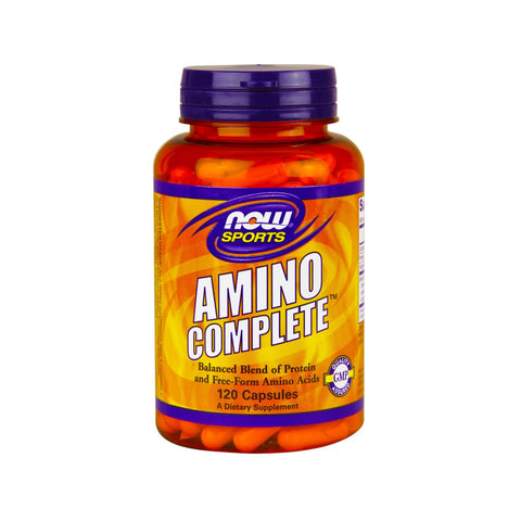 (P) Now Foods, Sports, Amino Complete, 120 Capsules - Bloom Concept