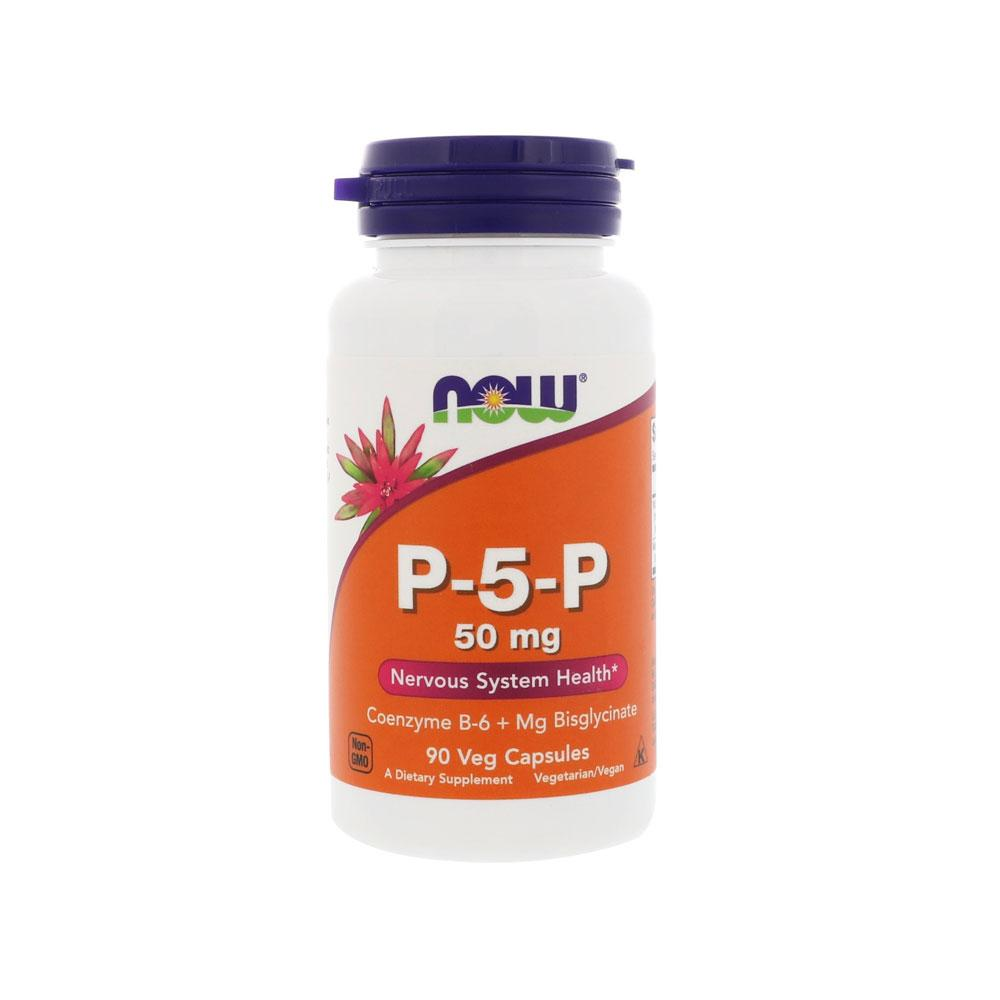 Now Foods, P-5-P, 50 mg, 90 Veg Capsules - Bloom Concept