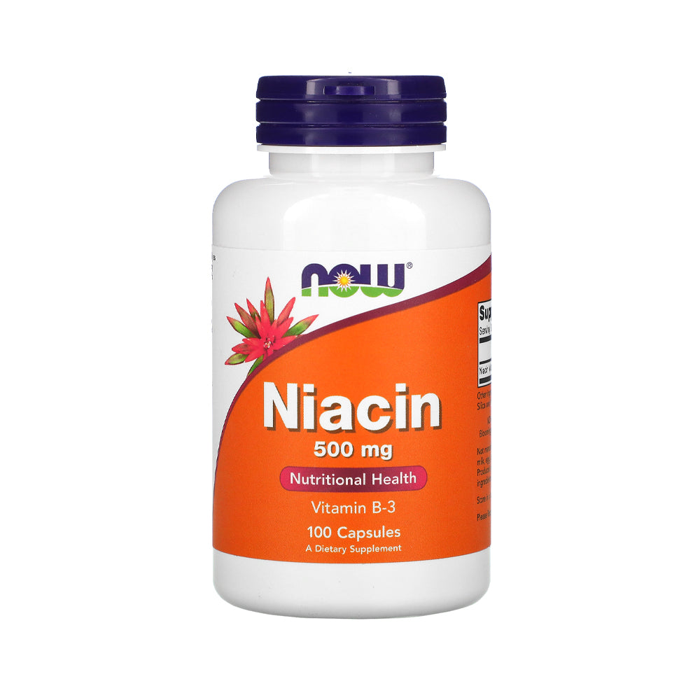 Now Foods, Niacin, 500 mg, 100 Capsules - Bloom Concept